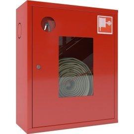 Ш-ПК-001НОК (ПК-310НОК) лев Шкаф пожарный навесной со стеклом красный ТОИР-М