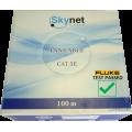 Кабель UTP 4 CAT5E  24AWG Cu outdoor SkyNet Standard, 100м.,Fluke test 0.48