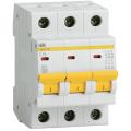 Автоматический выключатель ИЭК трехполюсный ВА47-29 3Р 6А 4,5кА (хар.С)