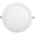 Светильник светодиодный ДВО 1609 круг 24Вт 4000K IP20 белый IEK