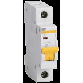 Автоматический выключатель ИЭК однополюсный ВА47-29 1Р 3А 4,5кА (хар.С)