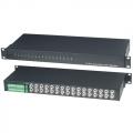 TPA016AH Приемник-разветвитель видеосигналов по витой паре, 16 входов, 32 выхода SC&T