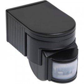 Датчик движения ИЭК ДД-012 1100Вт угол обзора 180 градусов IP44 черный