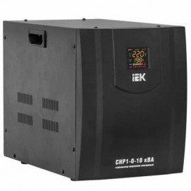 Стабилизатор напряжения ИЭК СНР1-0-10 кВА однофазный