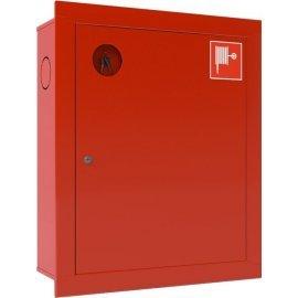 Ш-ПК-001ВЗК (ПК-310ВЗК) лев. Шкаф пожарный встроенный закрытый красный ТОИР-М