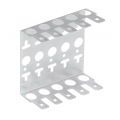 NMC-WCPL5-2 (2 шт) Кронштейн настенный на 5 плинтов NMC-WCPL5-2 (2 шт) NIKOMAX