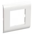 Рамка для КМКУ на 2 модуля ИЭК серии Праймер цвет Белый (уп. 10 шт)