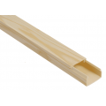 Кабель-Канал ИЭК серии Элекор цвет Сосна 12х12х2000мм (Цена за 1 Метр)