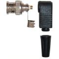 Разъем под коаксиальный кабель вилка BNC универсальный (штекер), угловой (10 шт)