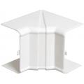 Внутренний изменяемый угол 80х40 ИЭК серии Праймер цвет Белый