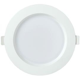Светильник светодиодный ДВО 1702 круг 12Вт 4000K IP40 белый IEK