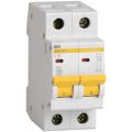 Автоматический выключатель ИЭК двухполюсный ВА47-29 2Р 6А 4,5кА (хар.С)