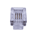 Телефонный разъем RJ-12 (6P4C) Коннекторы 6P4C (RJ-11) (100шт) (10-0227) SUPRLAN