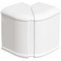 Внешний изменяемый угол 80х40 ИЭК серии Праймер цвет Белый (уп. 12 шт)