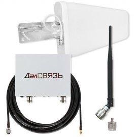 Комплект усиления сотовой связи 1800/2100 МГц DS-1800/2100-17 С1