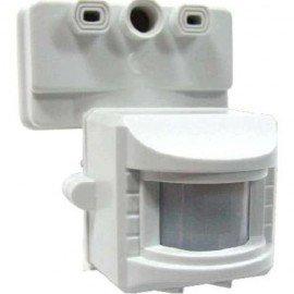 Датчик движения ИЭК ДД-019 1100Вт угол обзора 120 градусов IP44 белый