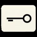 """33 T Вставка с символом """"ключ"""" Eff-Eff"""
