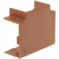 Угол Т-образный (тройник) КМТ 15х10 ИЭК серии Элекор цвет Дуб (уп. 4 шт)