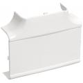 Угол Т-образный (тройник) 80х40 ИЭК серии Праймер цвет Белый