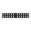 "NMC-RP48UD2-AN-2U-BK Патч-панель 19"", 2U, 48 угловых порта RJ-45, категория 5e NIKOMAX"