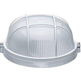 Светильник НПП1102 круг с решеткой белый термостойкий 100Вт IP54 ИЭК
