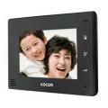 KCV-A374SD Монитор видеодомофона цветной с функцией «свободные руки» (чёрный)