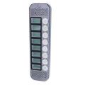 Видеопанель вызывная цветная JSB-V088К PAL (серебро) накладная