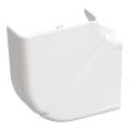 Плоский изменяемый угол 80х40 ИЭК серии Праймер цвет Белый