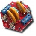 Блок защиты от высоковольтных импульсов и длительных перенапряжений Альбатрос-220/500 AC