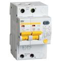 Автоматический выключатель дифференциального тока АД-12М 2п 6A C 10мА ИЭК