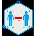 TRASSIR SocialDistance Detector Программное обеспечение для IP систем видеонаблюдения TRASSIR SocialDistance Detector DSSL