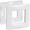 Рамка и суппорт для коробок КМКУ на 2 модуля ИЭК серии Праймер цвет Белый (уп. 10 шт)