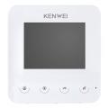 Монитор видеодомофона цветной KW-E401FC (белый)