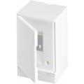 Бокс настенный ABB Basic E 2М белая непрозрачная дверь (без клемм) BEW401202