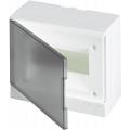 Бокс настенный ABB Basic E 8М серая прозрачная дверь (с клеммами) BEW402208
