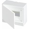 Бокс настенный ABB Basic E 8М белая непрозрачная дверь (с клеммами) BEW401208