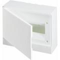 Бокс настенный ABB Basic E 12М белая непрозрачная дверь (с клеммами) BEW401212