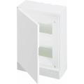 Бокс настенный ABB Basic E 16М белая непрозрачная дверь (с клеммами) BEW401216
