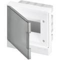 Бокс в нишу ABB Basic E 6М серая прозрачная дверь (c клеммами) BEF402206