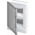 Бокс в нишу ABB Basic E 16М серая прозрачная дверь (c клеммами) BEF402216