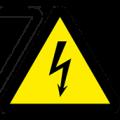 Самоклеящиеся знаки электробезопасности