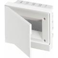 Бокс в нишу ABB Basic E 8М белая непрозрачная дверь (c клеммами) BEF401208