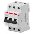 Автоматический выключатель ABB Basic M 3P 6A C 4.5кА BMS413C06