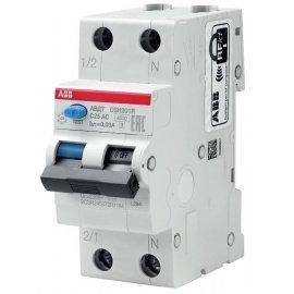 Дифференциальный автоматический выключатель ABB DSH201R 2п. 25А/0,03mA (тип AC)
