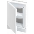 Бокс в нишу ABB Basic E 16М белая непрозрачная дверь (c клеммами) BEF401216