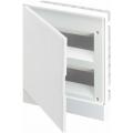 Бокс в нишу ABB Basic E 24М белая непрозрачная дверь (c клеммами) BEF401224