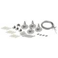 Комплект крепежных элементов №2 (подвесной монтаж) IEK
