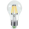 Лампы филаментные светодиодные LED классическая колба A, с цоколем E27