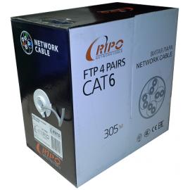 Кабель FTP 4x2x0.5 CAT5E 24AWG CU RIPO,бухта 305m