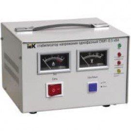 Стабилизатор напряжения ИЭК СНИ1-0,5 кВА однофазный
